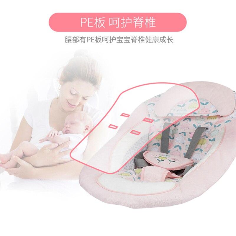 Pliable smart écran tactile bébé chaise à bascule bébé électrique chaise à bascule balançoire bébé berceau lit confort inclinable