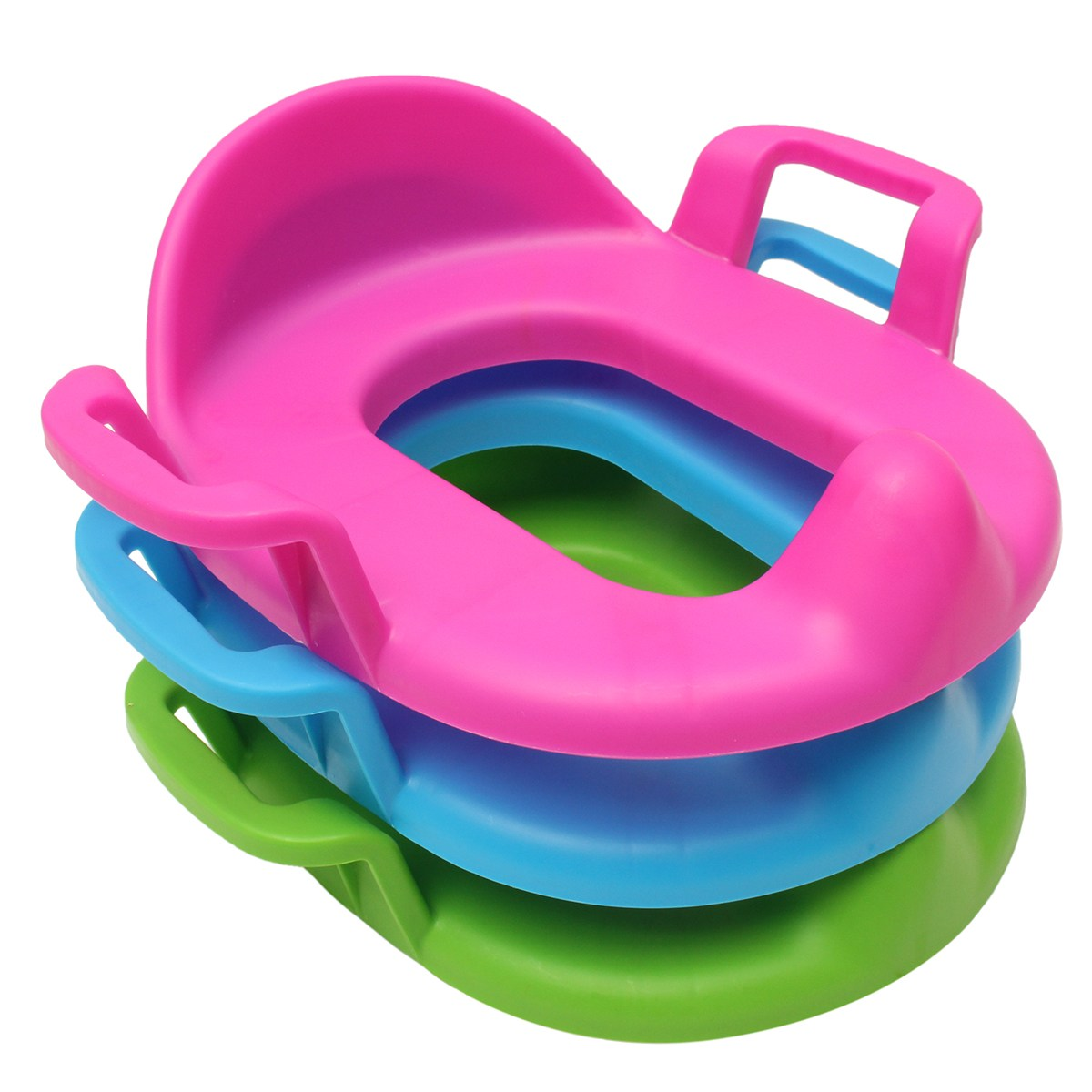 PP Soft size adjustable Easy Clean Baby children Toddler Training Urinal Baby Care Potties seat Pedestal