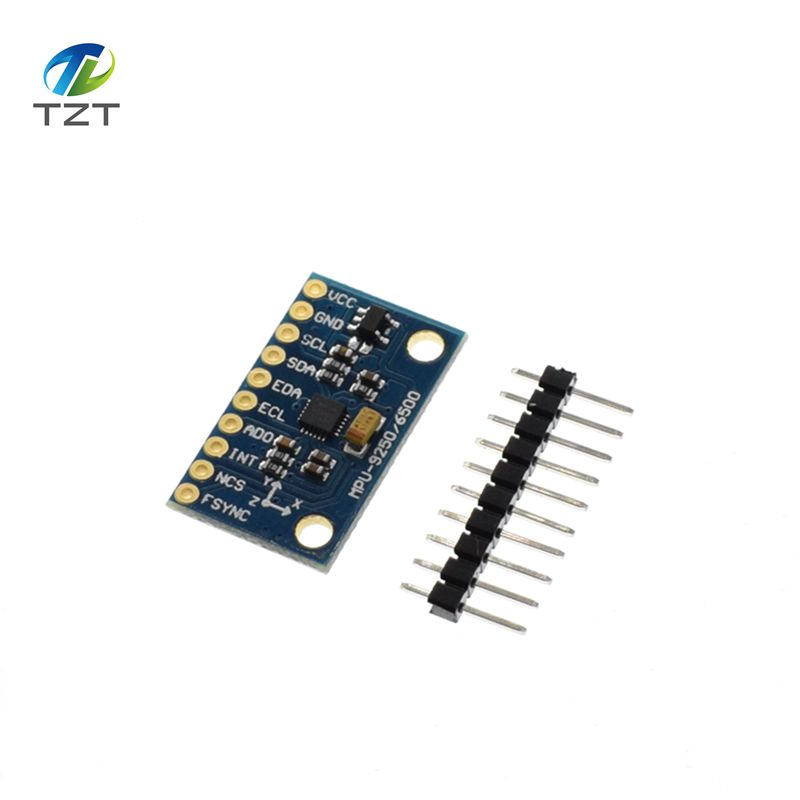 MPU-9250 GY-9250 9-axis Sensor Module I2C/SPI Communications Thriaxis Gyroscope + Triaxial Accelerometer+triaxial Magnetic Field
