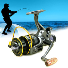New 10+1BB Ball Bearing Casting Fishing Reel Left/Right Handle Spinning High Speed Fishing Tool ALS88