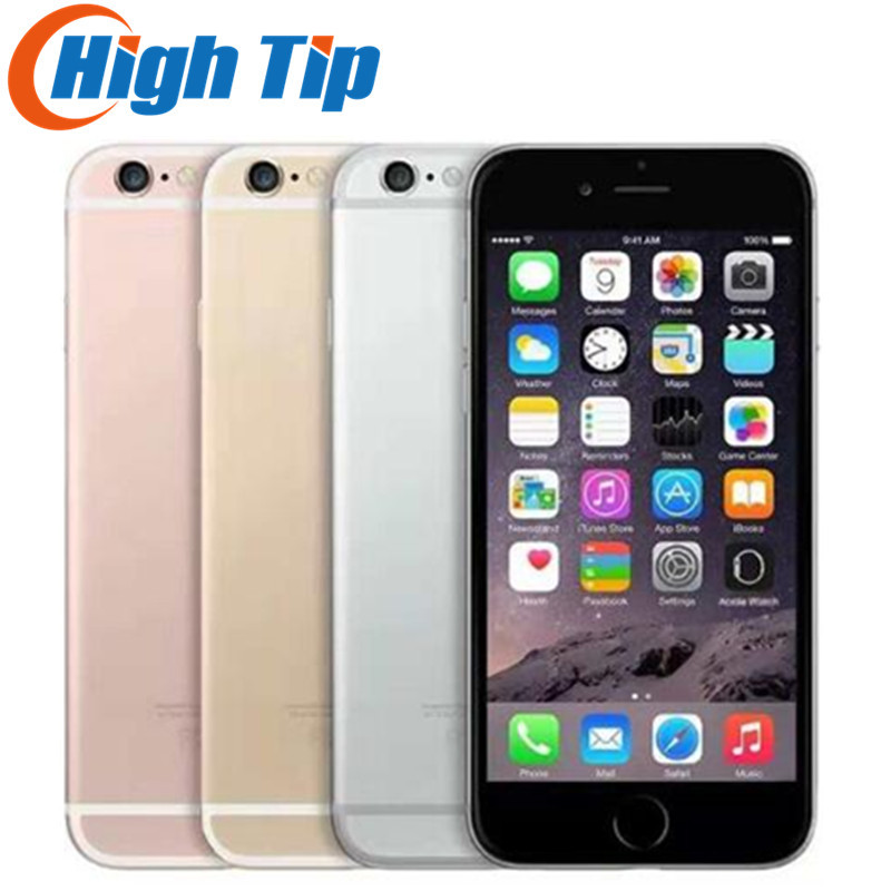 "Unlocked Original Apple iPhone 6S Plus Smartphone 5.5"" IOS 12.0MP 16/64/128GB ROM 2GB RAM Dual Core A9 4G LTE USED Mobile Phone"