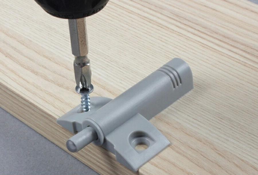 Slim 20 Stks/partij Anti Vibratiedemper Rubber Voor Keukenkast Deur Meubilair & 40 Schroef