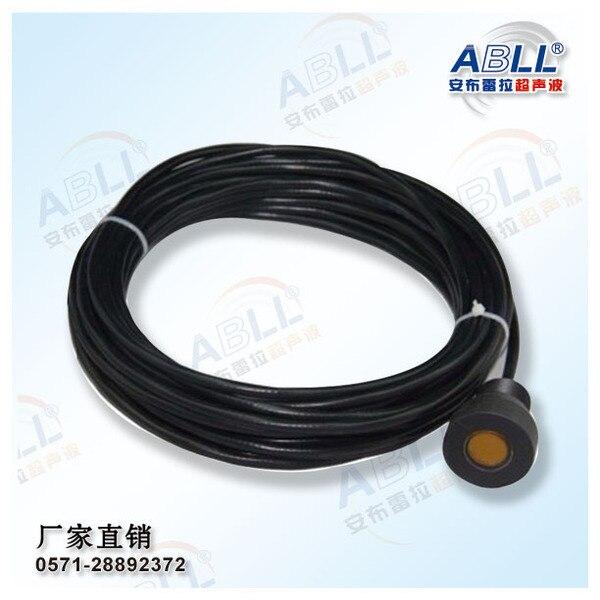 Capteur de niveau de boue à ultrasons transducteur petite zone aveugle interface de boue à ultrasons sonde d'instrument DYW-500-3A livraison gratuite