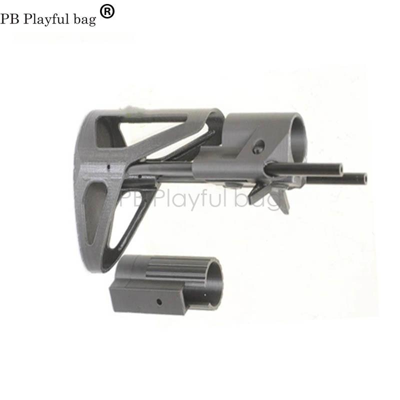 CS Tactics Playful Bag DIY Competitive Equipment Hobby Accessories PDW Telescopic Butt Jinming E Lehui FJS Gel Ball Gun KD24