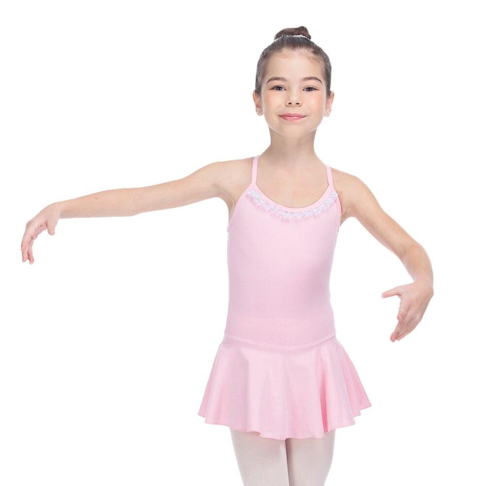 Bailarín de opciones Light Pink algodón/lycra camisola espalda ...