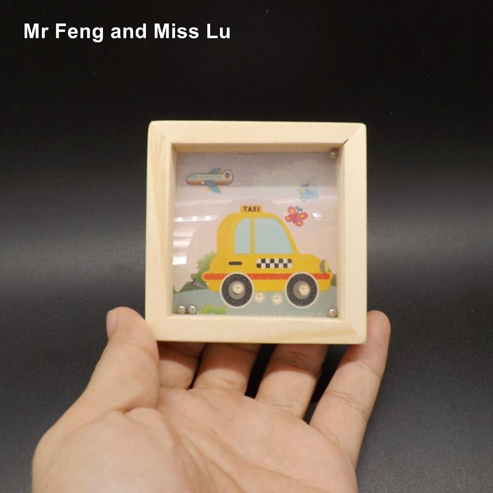 Us 659 Taxi Muster Kind Geschenk Kinder Holz Balance Ball Labyrinth Spiel Baby Intellektuelle Entwicklung In Puzzles Aus Spielzeug Und Hobbys Bei