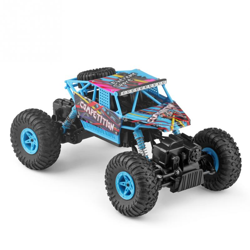 1:18 Electric RC Car Toy Four-wheel Drive 2.4G High Speed Off Road Car Model