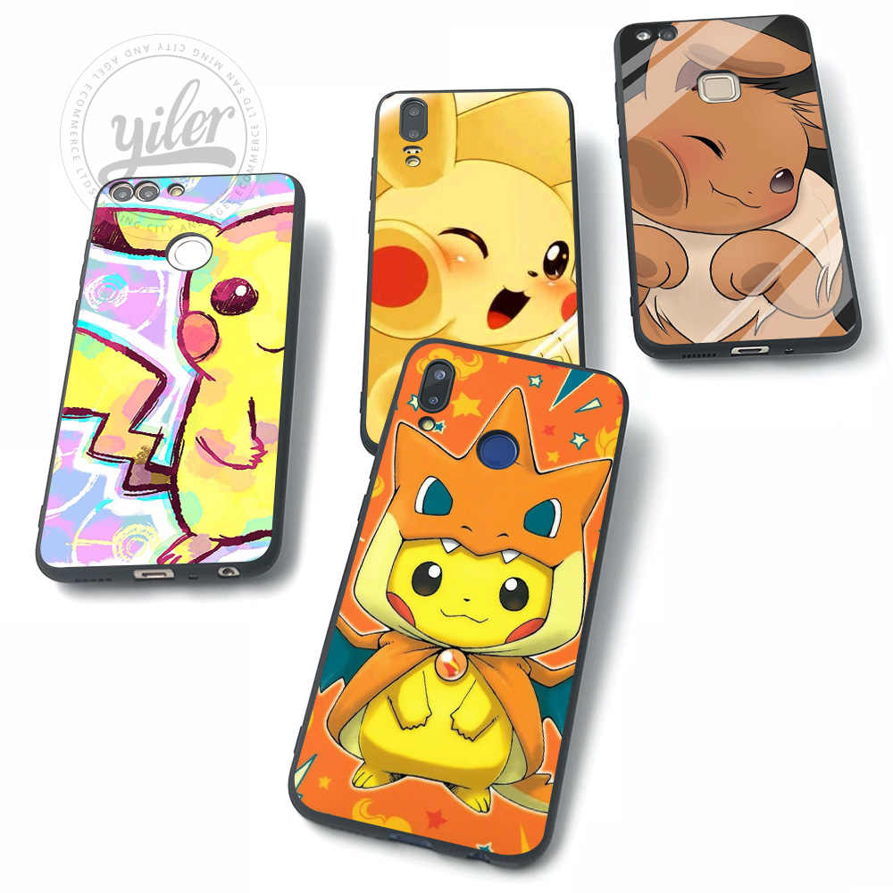 Pocket Monsters For Huawei NOVA 3 Cases for Huawei P20 lite Case for Huawei P Smart P10 lite P8 P9 lite P20 P30 Pro lite Cases