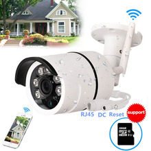 CCTV Outdoor Waterproof Bullet IP Camera Wifi Wireless Surveillance Camera S Memory Card Slot CCTV Camera Night Vision