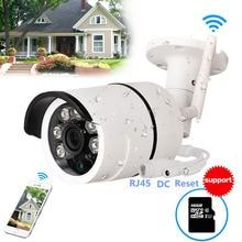 CCTV Outdoor Waterproof Bullet IP Camera Wifi Wireless Surveillance Camera S Memory Card Slot CCTV Camera Night Vision