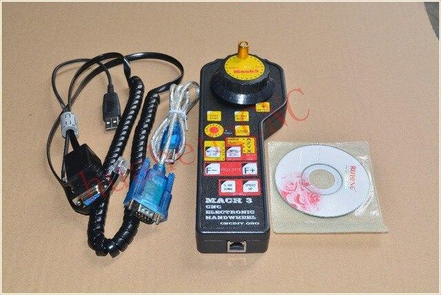 Mach3 usb маховик руководство контроллер MODBUS MPG для modsmach3 гравировальный станок Модов Mach3 электронный маховик 1 компл.