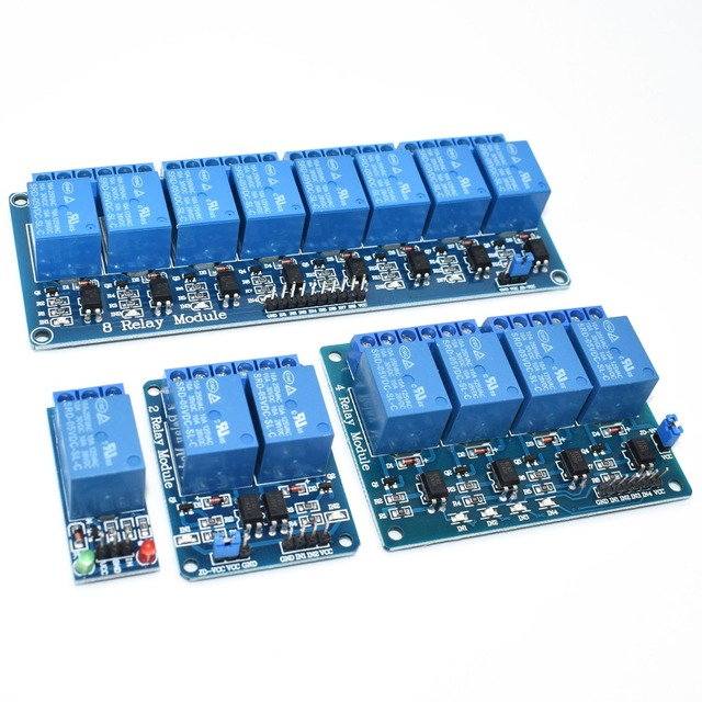 TENSTAR робот 5 v 1 2 4 8 канальный релейный модуль с оптопара. Реле Выход 1 2 4, 8 способ релейный модуль для arduino 1 2 4, 8 CH