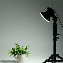 1 조각 LED 램프 사진 스튜디오 전구 초상화 소프트 박스 채우기 라이트 전구 및 37CM 라이트 스탠드
