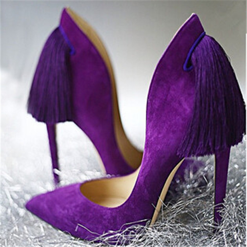 Popular Purple Heels-Buy Cheap Purple Heels lots from China Purple ...