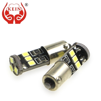 KEIN BA9S led Bulb T4W 363 H6W BA9 9SMD 2835 Interior Lighting Parking Dome Door Signal Lamp car styling Vehicle 12V Lamp Bulb image