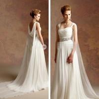 Sweetheart Vestido De Noiva Sexy Custom Made 2016 Cheap New Vintage Greek Style A Line Wedding