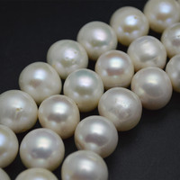 Big Size Natural White Fresh Water Pearl FWP Round Loose Beads 10 11mm 11 12mm 12