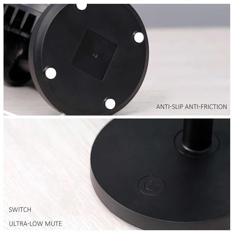 Новый USB настольный охлаждающий вентилятор для офиса, домашнего компьютера, креативный тихий мини-вентилятор с 3 скоростями, регулируемый ручной зажим