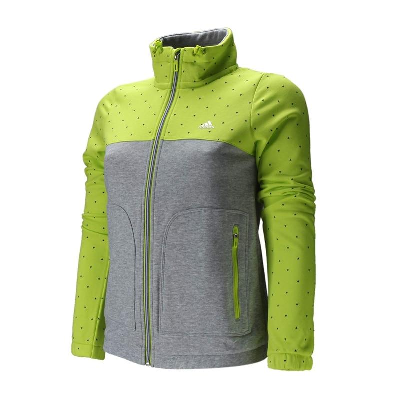 Original ADIDAS Women's knitted jacket Sportswear free shipping