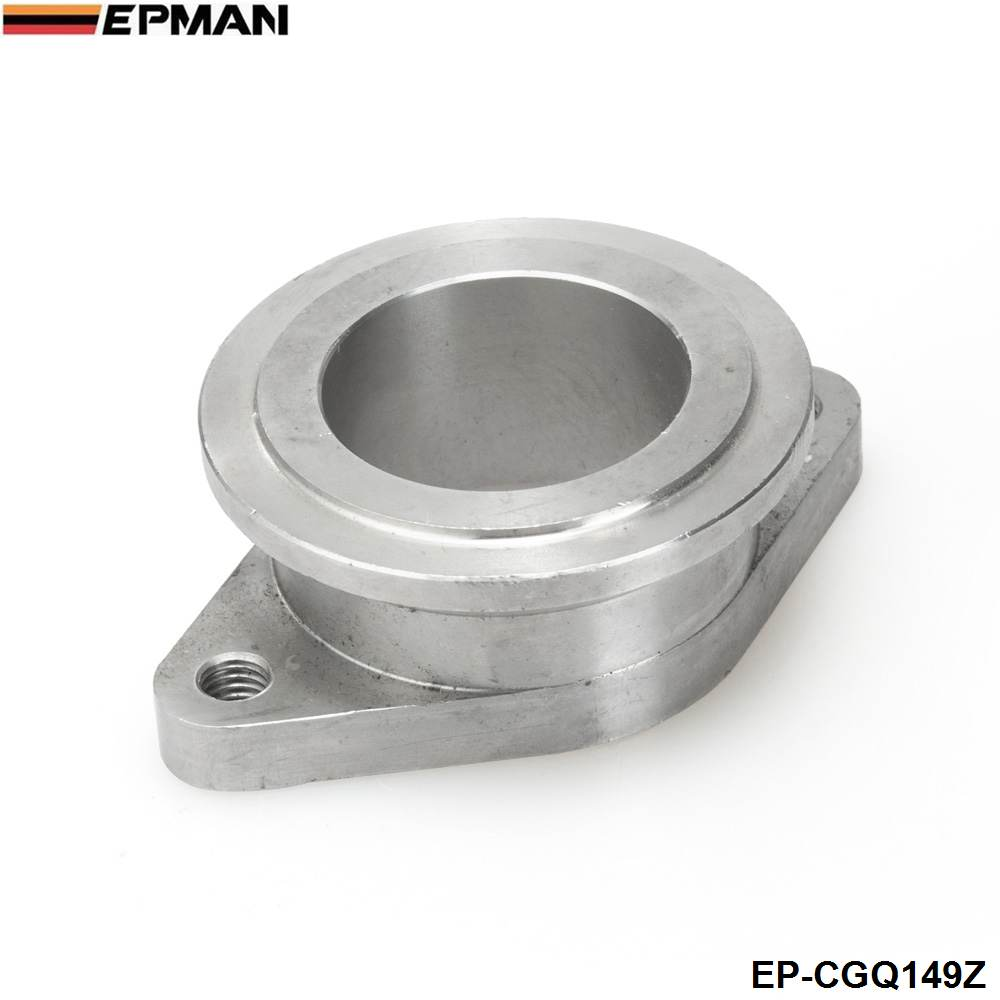 цена Stainless steel 38mm to 44mm Vband MV-R Wastegate Flange Adapter: Fits Universal EP-CGQ149Z