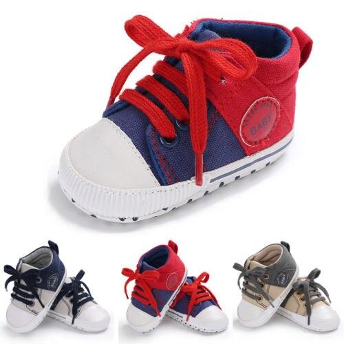 1Pair Kids Toddler Baby Girl Boy Soft Sole Casual Shoes Toddler Infantil Sneaker Shoes Prewalker Sneakers Anti-Slip Mocassins