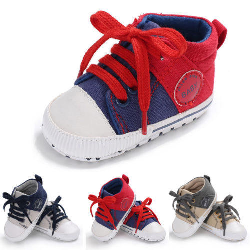 1Pair Kids Toddler Baby Girl Boy Soft Sole Casual Shoes Toddler Infantil Sneaker Shoes Prewalker Sneakers Anti-Slip Mocassins