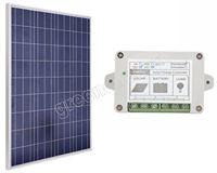 100W WATT 100W 12V SOLAR PANEL WITH 15A 15AMP SOLAR CONTROLLER REGULATOR CHARGE