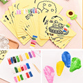 20PCS/LOT Multi specification Children Kids Drawing Toys Sand Painting Pictures Kid DIY Crafts Education Toy Pattern Random
