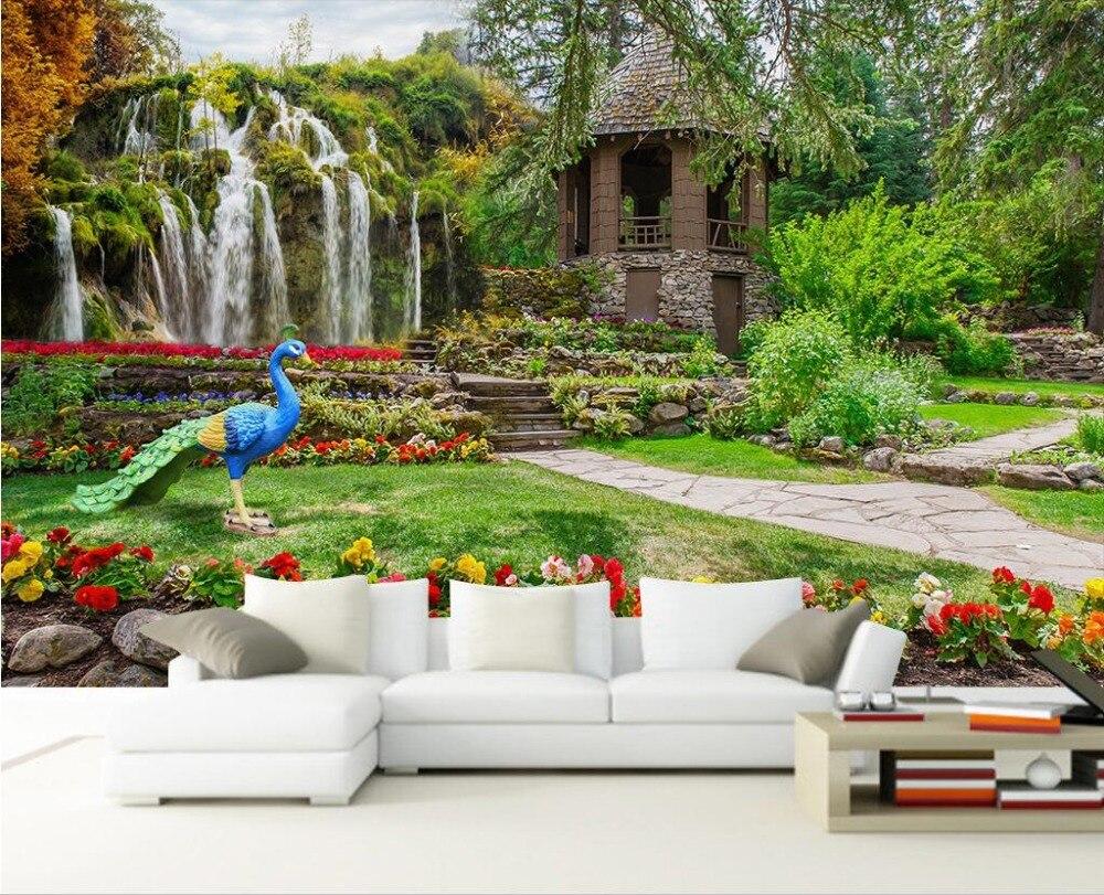Inspirierend Wandgarten Innen Ideen Von 3d Wallpaper Benutzerdefinierte Foto Nicht Gewebte Wand