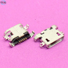 10pcs Micro USB Charging Port For Lenovo A670 S650 S720 S820 S658T A830 A850 S939 S6000 USB Jack Connector Socket