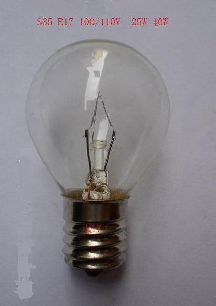 bom s35 e17 110 v 25 w 40 japones luz incandescente comum candeeiro de mesa lustre