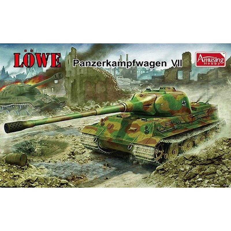 Passatempo divertido 35A005 1/35 Panzerkampfwagen VII LOWE Kit Modelo de Escala|Kits de modelo de construção| - AliExpress