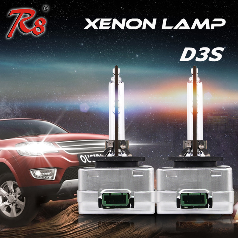 R8 Plug and Play Brand New Car D3 D3S HID Xenon Light Bulbs 35W 4300K 6000K 8000K Replace OEM Lamp Good Quality brand new smt yamaha feeder ft 8 2mm feeder used in pick and place machine