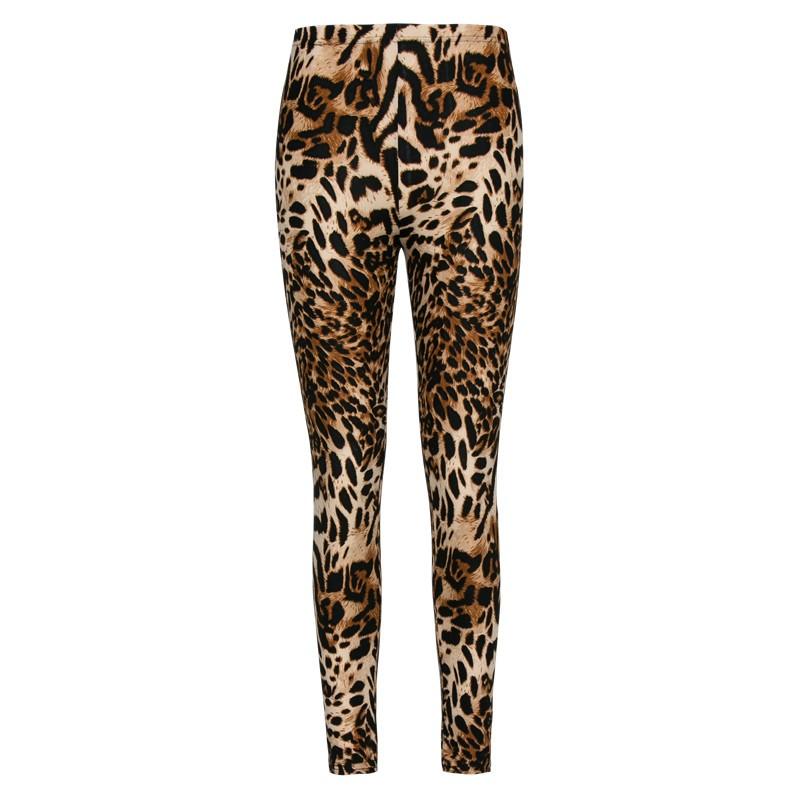 Multiple Leopard Leggings Print Fashion Skinny Pants Womens Leggins 17 Elastic Calca Legging Feminina Workout Sale HDDK0011 7