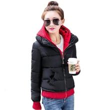 Tengo Winter Coat Color Cotton-padded  Jacket Women Coat