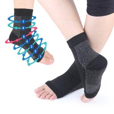 fcf3b75594 Man Women Anti Fatigue Compression Foot care tool Sleeve Foot Ankle  Compression Socks Anti Fatigue Varicose Feet Sleeve Hallux