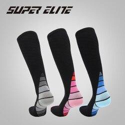 Мужские носки для верховой езды, велоспорта, баскетбола, бега, махровые, амортизирующие носки, летние, походные, для тенниса, лыжного спорта, ...