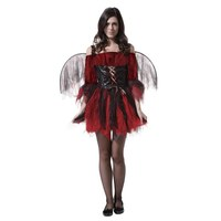 Adult Halloween Costumes Sexy Red And Black Female Angel Adult Red Devil Costumes