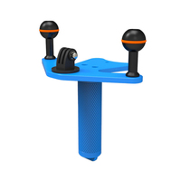 SUPE Scubalamp TG15 Gopro tay grip Underwater Scuba Diving Accessories Photography Equipment Ball Head Special Support Tray