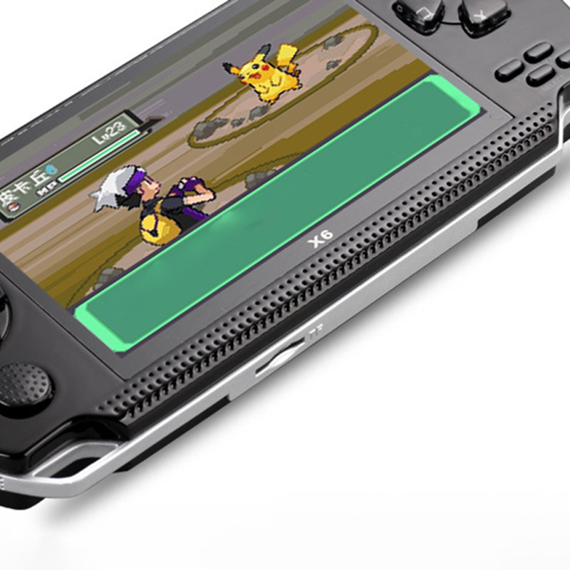 Image 5 - Powkiddy 4.3 Inch Retro Handheld Game Console 8Gb Portable Video Game Built In Free Classic Games Support Photo Recording Txt-in Handheld Game Players from Consumer Electronics