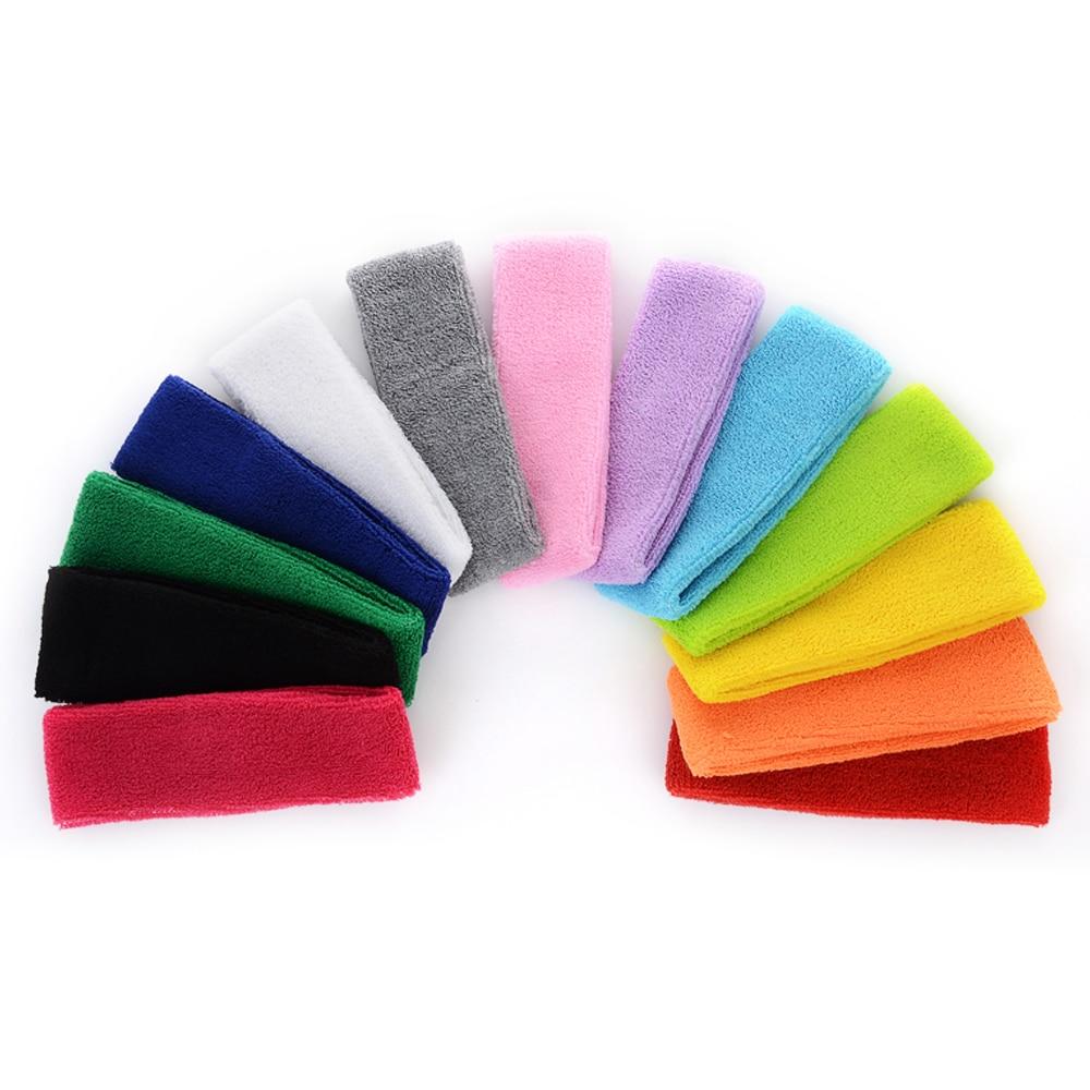 14 Farben erhältlich Fangcan Frauen Unisex Stretch Stirnband für - Sportbekleidung und Accessoires - Foto 1