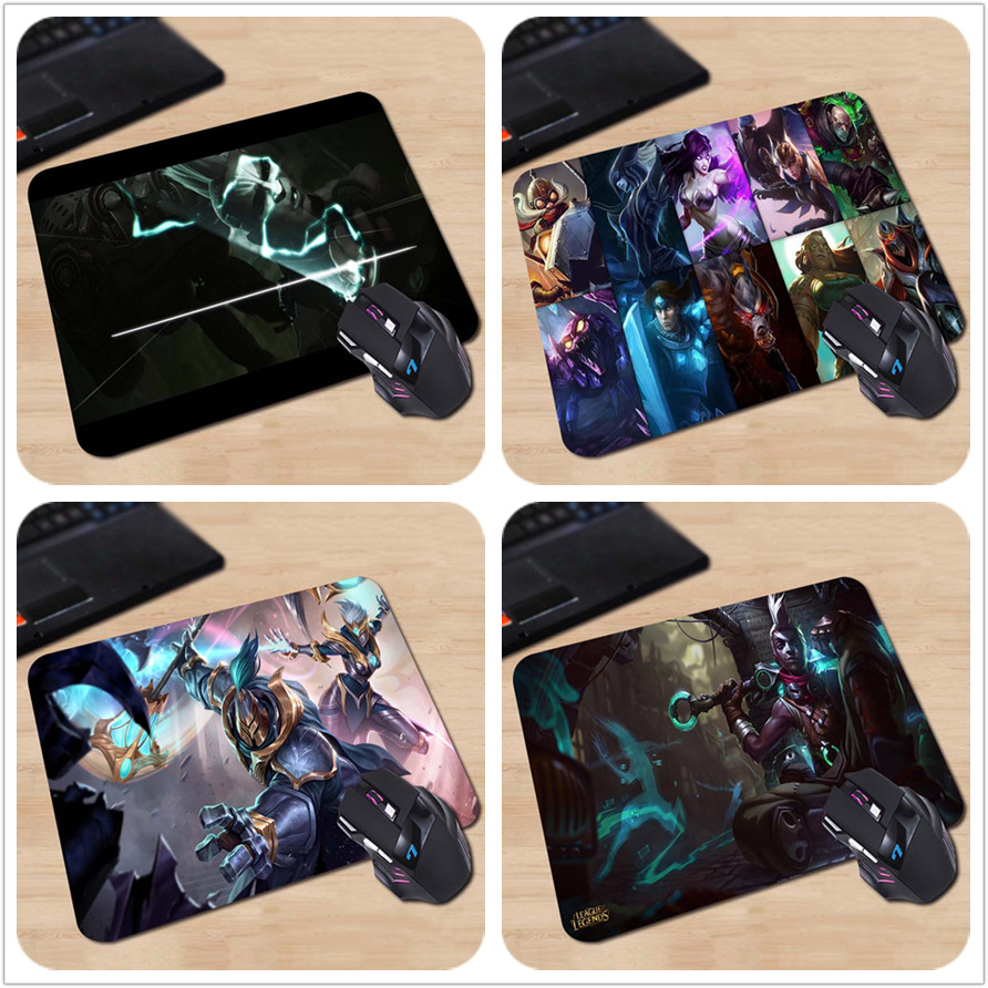LOL New Hero Time Assassin Black Horro Ekko Custom Made Mouse Mat Rectangle Printed Mouse Pads Your Own Style Cool Mice Pads