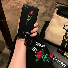 For Oppo F5 Cases WIth Straps Diamond Glitter Rose Cases For Oppo A71 Back  Covers For Oppo F3 A59 A37 A57 F1 F3 Plus Soft Cases 72088a109c02
