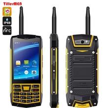 Original Android 6.0 Rugged N2 Phone 3G Smartphone IP68 Waterproof Phone shockproof GPS MT6580 Quad Core Russian Keyboard
