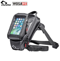 CUCYMA Motorcycle Tank Bag Multifunction Motorbike Drop Leg Bags Touch Screen Mobile Phone Bag for GPS navigation Travel Pack