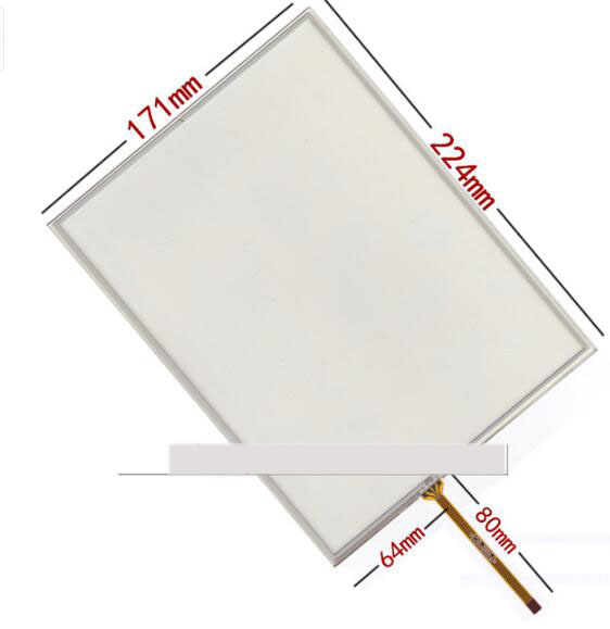 10.4 inch touch screen industrial / medical equipment security equipment handwritten touch screen 224*171 screen original capacitive touch screen handwritten screen tpc1129 ver1 0
