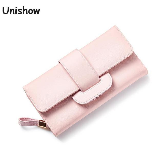 Fashion Large Capacity HASP Women Wallet Long Brand Women Purse Soild Casual Young Girl Wallet Female With Coin Purse