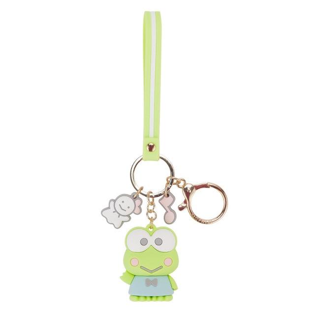Cartoon Cute Hello Kitty Doll KT Cat Keychains Women Girls Charm Bags key chain  Accessories Pendant Car  New Key ring 2019 3