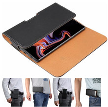 Fashion 7 Styles Belt Clip Case For Samsung S10/S9/S8/S7/S6 PU Leather Pouch For Samsung Note 9 8 5 Mobile Phone Bag Waist Bag(China)