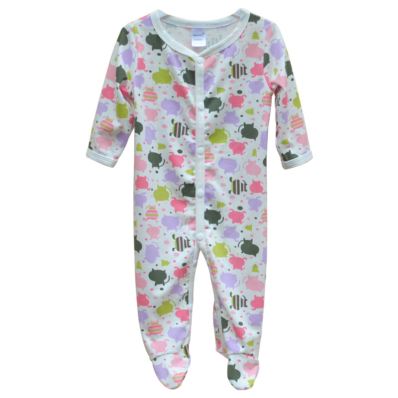 Brand Newborn Baby Clothes Cute Cartoon Baby Costume Girl Boy Jumpsuit Clothing Spring Autumn Cotton Romper Body Baby Clothes 13